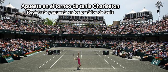 Apuesta en el torneo de tenis de Charleston