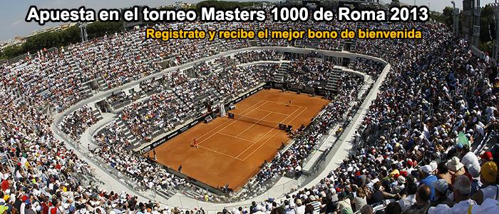 Apuestas torneo Masters Roma 2013