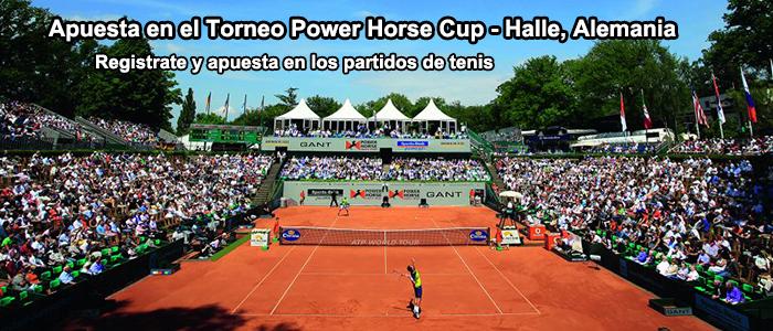 Apuesta en el Torneo Power Horse Cup - Halle, Alemania