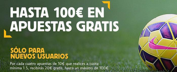 Nuevo bono de bienvenida de Betfair hasta 100 euros