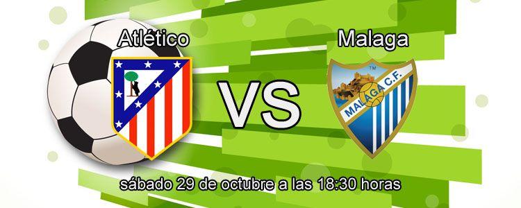 Apuesta segura de la semana para el partido Atlético - Malaga