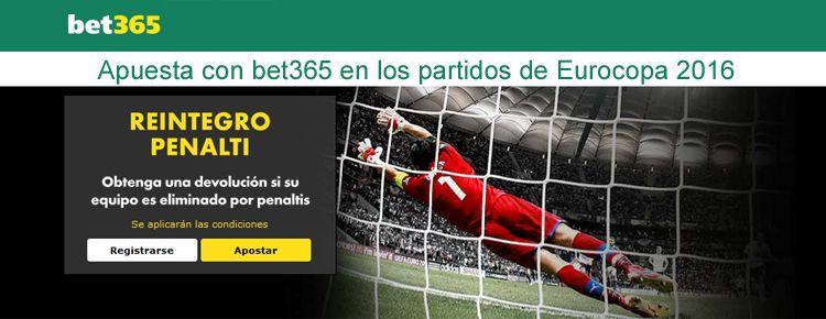 Apuesta con bet365 en los partidos de Eurocopa 2016