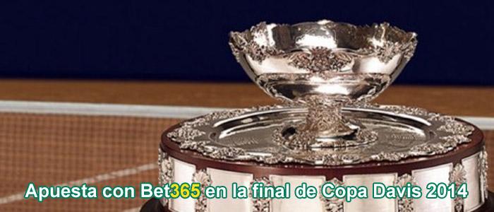 Apuesta con Bet365 en la final de Copa Davis 2014