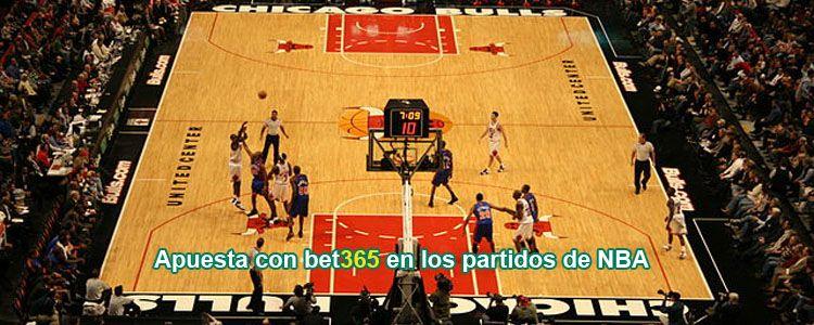 Apuesta con bet365 en los partidos de la NBA