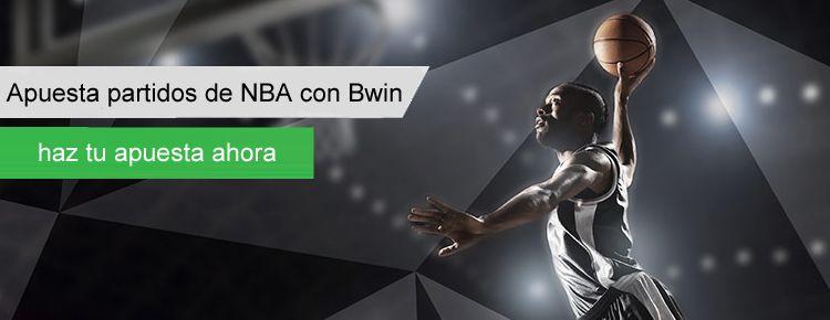 Aprende como apostar con bwin en los partidos de NBA