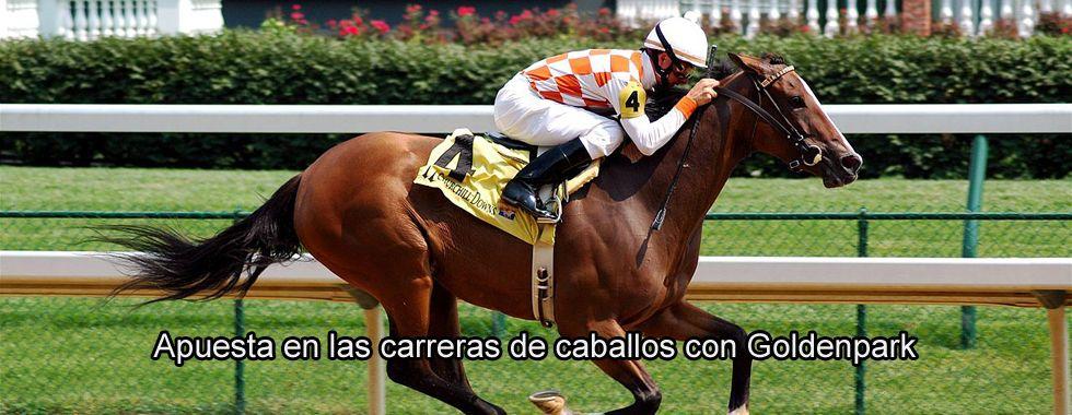 Apuesta en las carreras de caballos con GoldenPark