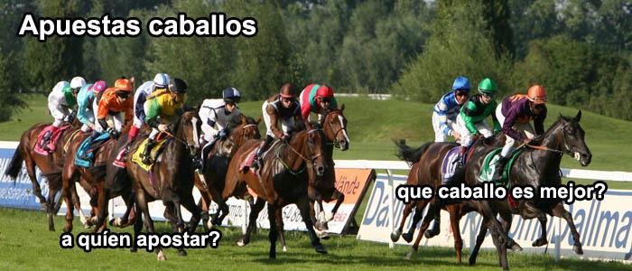 Apuestas caballos