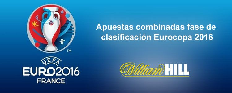 Apuestas combinadas fase de clasificación Eurocopa 2016