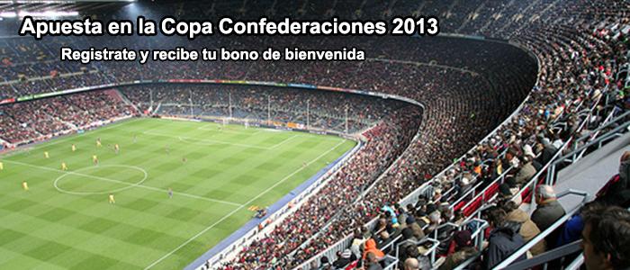 Apuestas Copa Confederaciones 2013