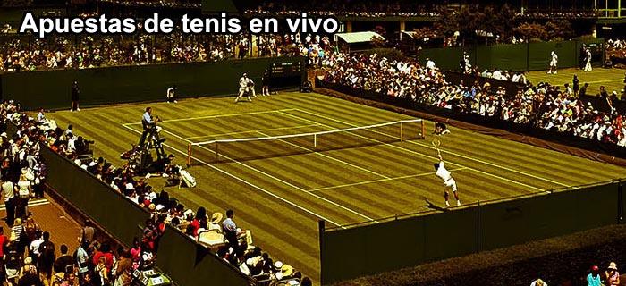 Apuestas de tenis en vivo