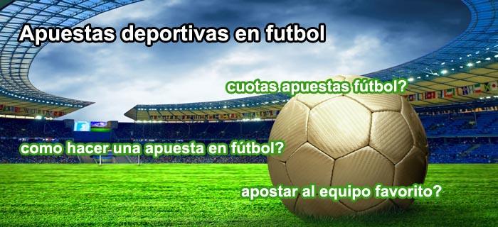 Apuestas deportivas en futbol