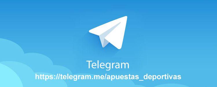 Nuevo canal Telegram de apuestas deportivas