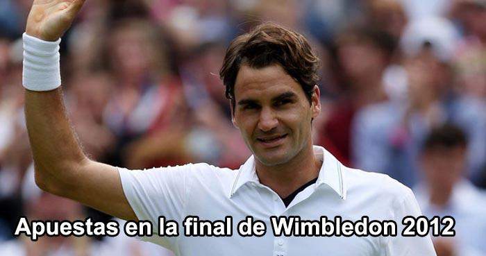 Apuestas en la final de Wimbledon 2012