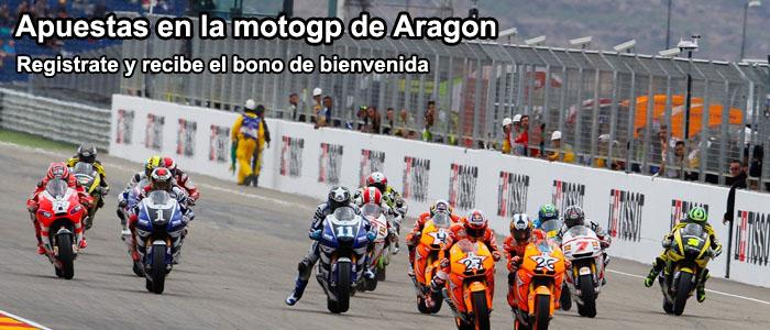 Apuestas en la motogp de Aragon