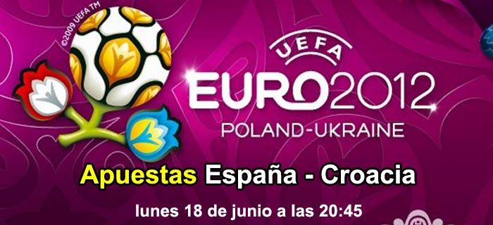 Apuestas España - Croacia