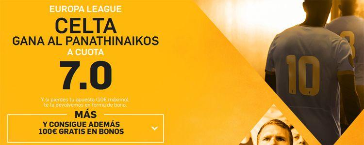 Supercuota por la victoria de Celta ente el Panathinaikos