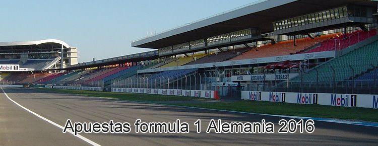 Apuestas formula 1 Alemania 2016