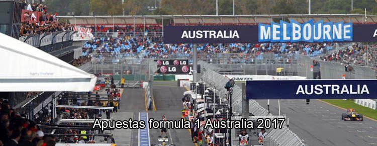 Apuestas formula 1 Australia 2017