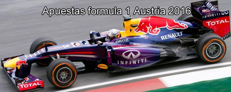 Apuestas formula 1 Austria 2016