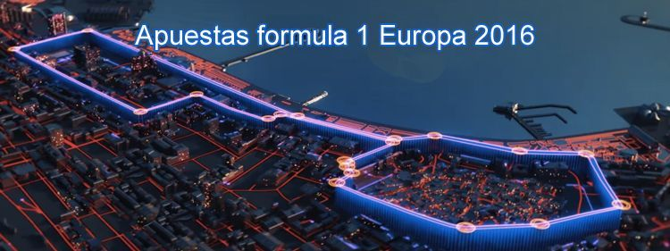Apuestas formula 1 Europa 2016