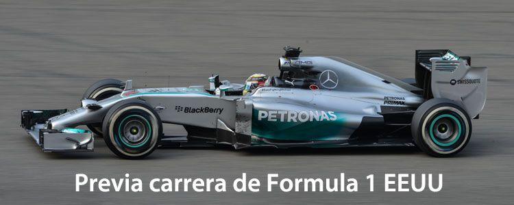 Previa carrera de Formula 1 EEUU