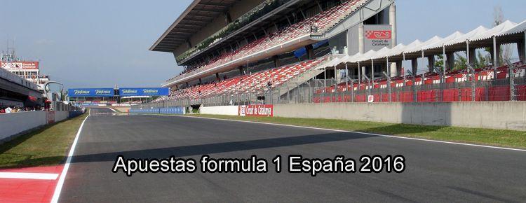 Apuestas formula 1 España 2016