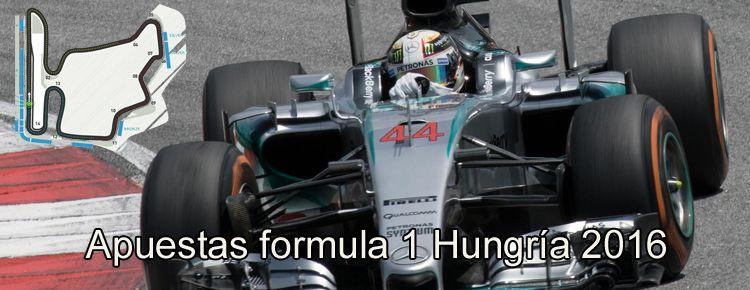Apuestas formula 1 Hungría 2016