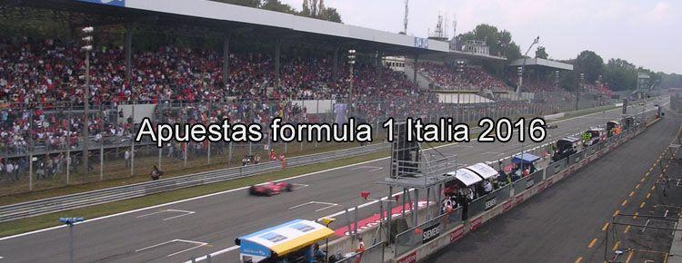 Apuestas formula 1 Italia 2016