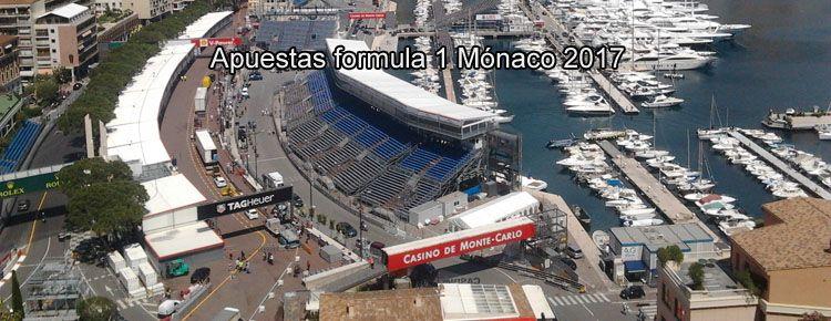 Apuestas formula 1 Mónaco 2017