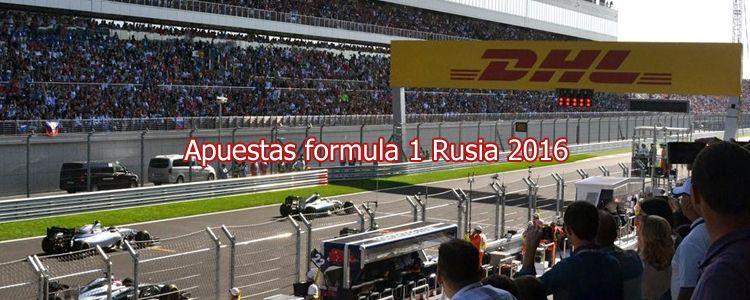 Apuestas formula 1 Rusia 2016