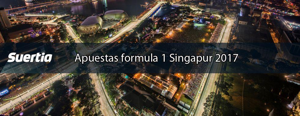 Apuestas Fórmula 1 Singapur 2017