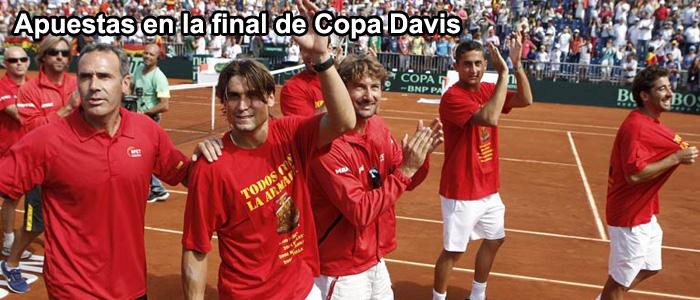 Apuestas en la final de Copa Davis