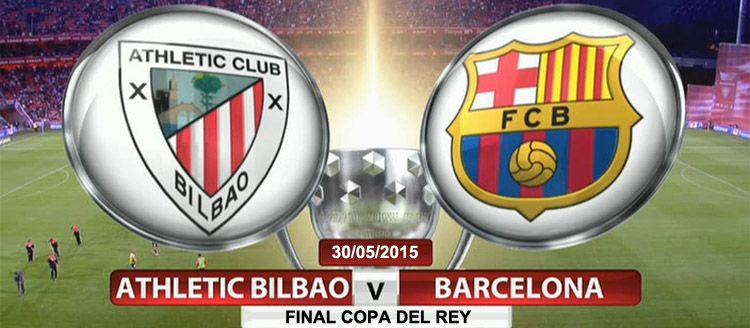 Apuestas final Copa del Rey: Athletic Bilbao - Barcelona