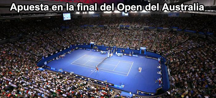 Apuesta en la final del Open de Australia 2014
