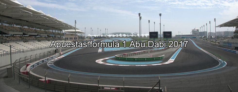 Apuestas Fórmula 1 Abu Dhabi 2017