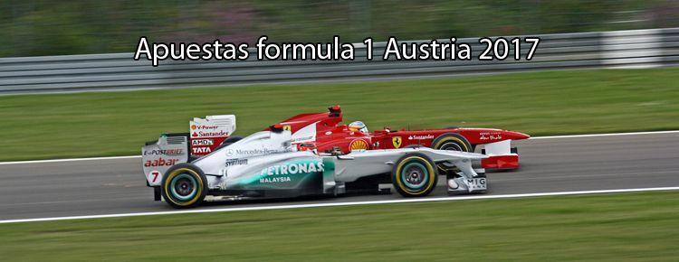 Apuestas Fórmula 1 Austria 2017