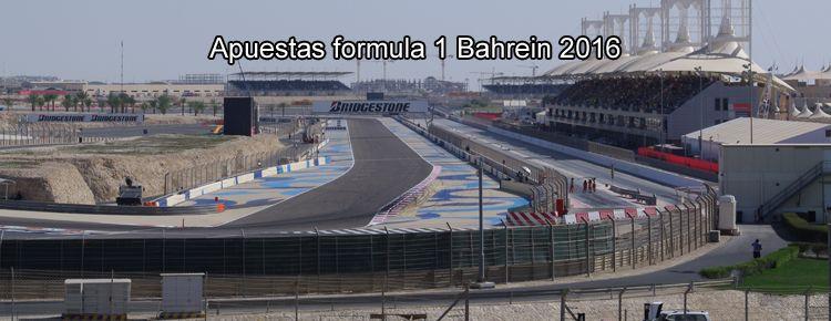 Apuestas formula 1 Bahrein 2016