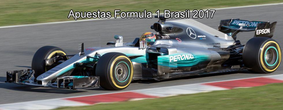 Apuestas Fórmula 1 Brasil 2017