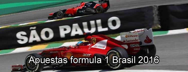 Apuestas formula 1 Brasil 2016