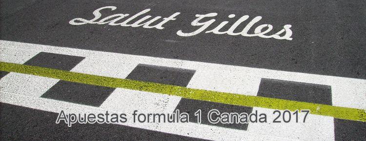 Apuestas formula 1 Canada 2017