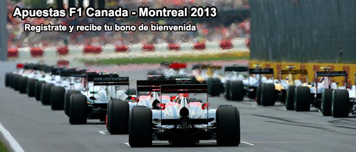 Apuestas F1 Canada - Montreal