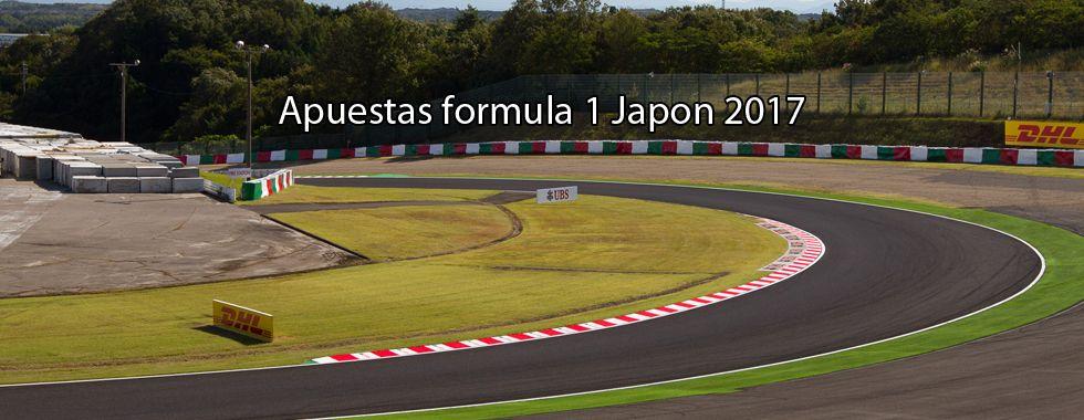 Apuestas Fórmula 1 Japón 2017