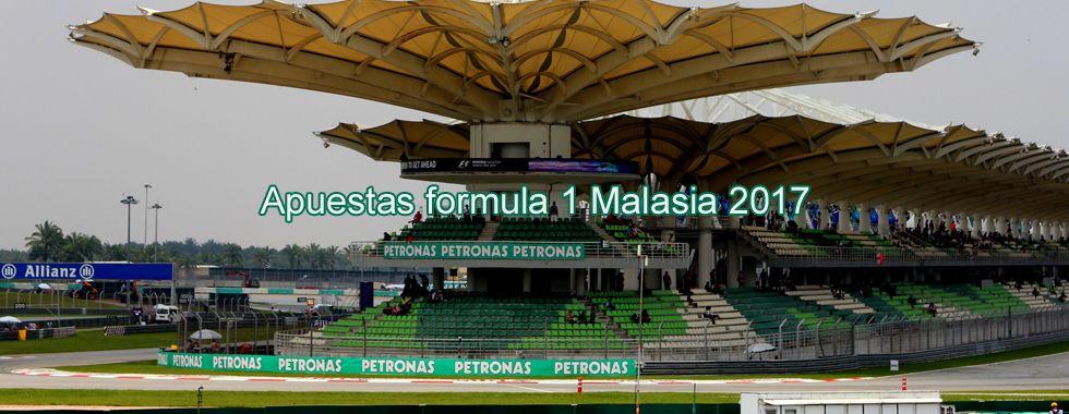Apuestas Fórmula 1 Malasia 2017