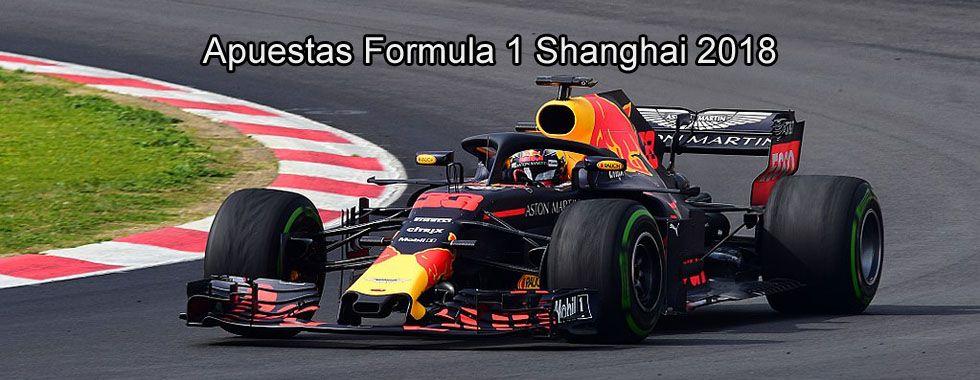 Apuestas Fórmula 1 Shanghai 2018