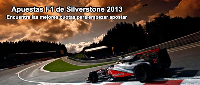 Apuestas F1 de Silverstone 2013