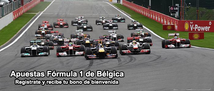 Apuestas Formula 1 G.P. de Belgica