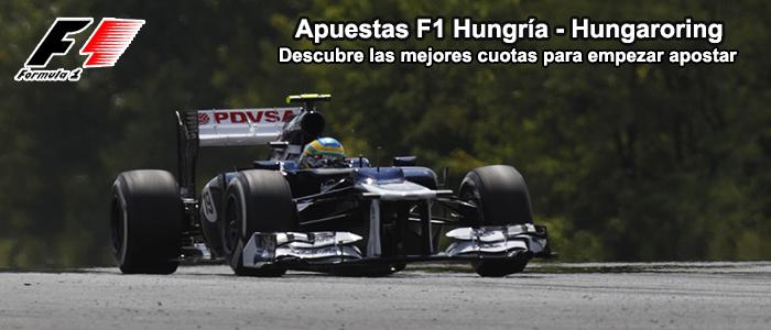 Apuestas F1 Hungría - Hungaroring 2013
