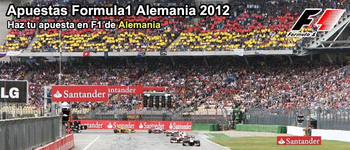 Apuestas Formula1 Alemania 2012