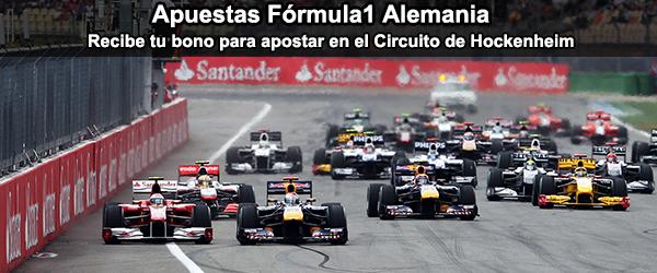 Apuesta en la Formula1 de Alemania 2014