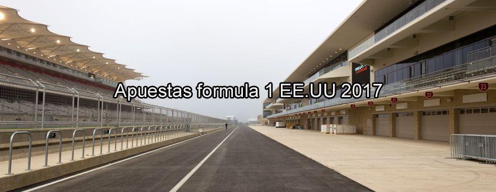 Apuestas Fórmula 1 EEUU 2017